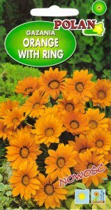 Gazania Orange with Ring (Pol 15n)