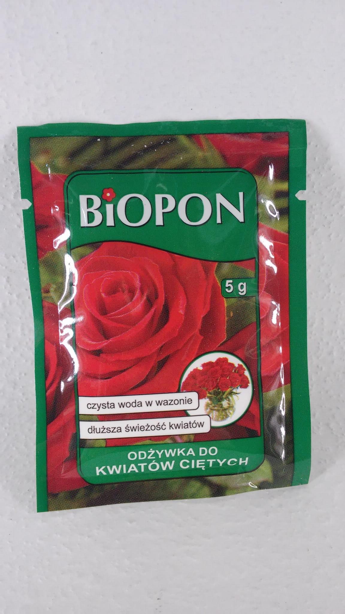 e59d99d1ba7b3b BIOPON odżywka do kwiatów ciętych 5g w proszku krokusy.pl